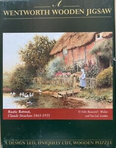 """WENTWORTH """"Rustic Retreat"""" 250 piece Wooden JIGSAW PUZZLE (Whimsy)"""