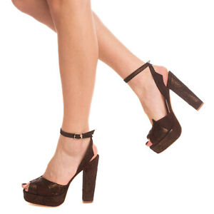 RRP €285 TERRY DE HAVILLAND Leather Ankle Strap Sandals EU 38 UK 5 US 8 HANDMADE