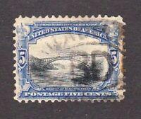 United States stamp #297, used, 1901, SCV $17.00