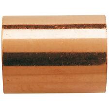Raccord cuivre pression à souder - Manchon femelle / femelle - Ø20 mm Lot de 10