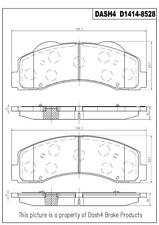 Disc Brake Pad Set-Ceramic Pads Front Pronto PCD1414