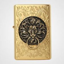 Zippo The Gate Gold Lighter Made in USA /GENUINE and ORIGINAL Packing