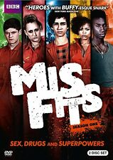 Misfits: Season One (DVD 2-Disc Set) Season 1 NEW