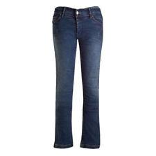 Bull-it Ladies Vintage Sr6 Motorcycle Jeans Pants Blue Regular 111505013110