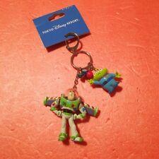 Tokyo Disney Pixar Toy story Buzz Little Green men Alien Key chain Keychain New