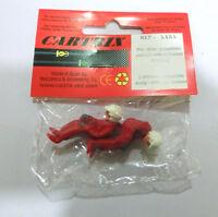 Bustos piloto y copiloto cuerpo entero casco integral Cartrix escala 1/32 1181