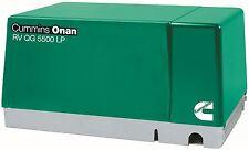 Brand New CUMMINS ONAN 5.5 HGJ-AB/ 1119 RV GENERATOR SET RV QG 5500 LP PROPANE