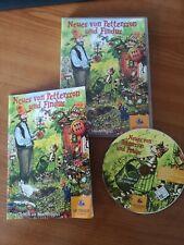 Neues von Pettersson & Findus PC-Spiel Mac Lernspiel CD-Rom Spiel Super Zustand
