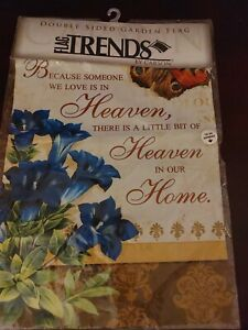 Bereavement Garden Flag - Heaven In Our Home