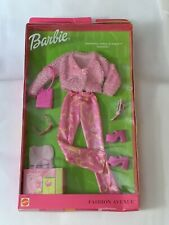 Barbie New Clothes: Fashion Avenue SHOPPING SPREE IN PAREE 2002 #25701 NRFB