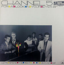 """Channel 5 - For A Look In Your Eyes - 12"""" Maxi - K1099 - washed & cleaned"""