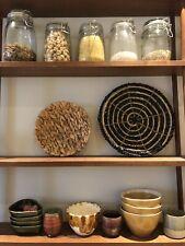 Stylish Moroccan Woven Basket Habitat