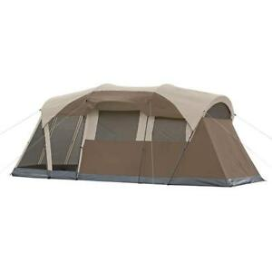 NEW Coleman Weathermaster Family Tent (10 Person) - Free 2 Day Shipping