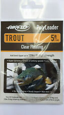 Airflo PolyLeader Trout 5ft Clear Floating - 12lbs