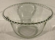New ListingImperial Glass Candlewick Punch Bowl
