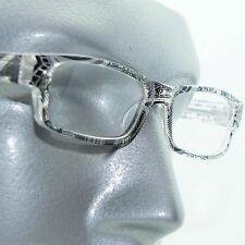 Reading Glasses Sharp Ink Style Tattoo Graffiti Frame +1.25 Clear Black