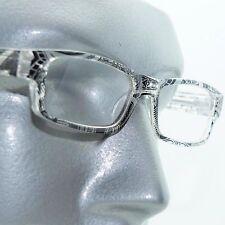 Reading Glasses Sharp Ink Style Tattoo Graffiti Frame +1.25 Clear Black