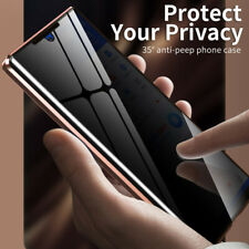 Magnetic Adsorption Anti-Spy Glass Case Cover For Samsung Note20 Ultra S20 Plus