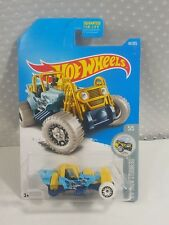 2015 Hot Wheels Mountain Mauler Missing Rear Tires & Axles error rare New 1 of 1