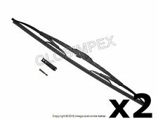 "Porsche 924 928 944 '77-'95 19"" FRONT L and R Wiper Blade Set of 2 BOSCH"
