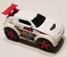 2003 Loose 1:64 Hot Wheels....White, Volcano Shooters Mitsubishi Pajero