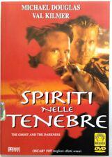 Dvd Spiriti nelle Tenebre con Val Kilmer 1996 Usato