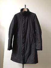Prada Sport Nylon Over Coat Jacket Worn Once 46 Black Padded Not Down