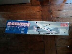 Vintage Brand New GWS Trainer aircraft Rc Foamie Plane