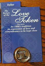 Hallmark PEWTER love token-- Father (OUT OF PRINT)
