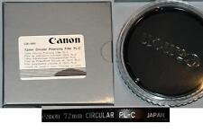 Canon 72mm Circular Polarizer Glass Filter 2581A002, London