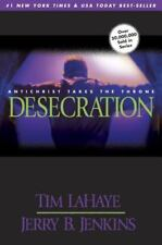 DESECRATION by Jerry B Jenkins, Tim LaHaye a paperback book FREE USA SHIPPING
