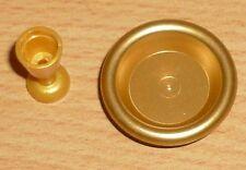 Lego Ritter Kelch und Teller in perl gold