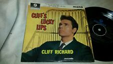 CLIFF RICHARD -CLIFF'S LUCKY LIPS -ORIGINAL 1963 Uk COLUMBIA SEG 8269 EP-Ex+/Ex