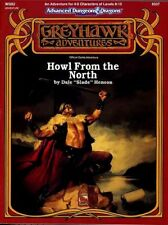 WGS2 HOWL FROM THE NORTH EXC+! D&D Module TSR Dungeons Dragons Adventure AD&D