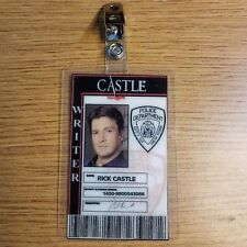 Castle TV Series ID Badge-Rick Castle prop costume cosplay