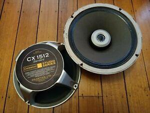 Vintage Celestion CX-1512 Studio Series speakers.