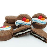 Philadelphia Candies Milk Chocolate Covered OREO® Cookies, Happy Birthday Gift