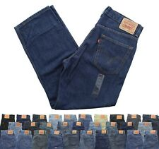 Levi's Men's 550 Blue Jeans Straight Leg Relaxed Fit Denim Jean Pants