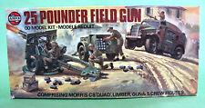 Vintage Airfix ΟΟ 25 Pounted Field Gun England 1977