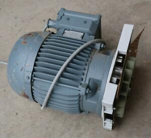 AEG Elektromotor 220V / 0,75kW 1350 U/min mit Netzschalter & Anschlusskabel