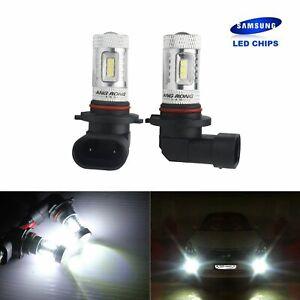 Lot 2 Ampoules HB3 9005 15-SMD LED Blanc Xenon 15W Feux de jour Brouillard DRL