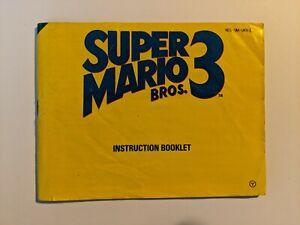 Nintendo NES Manual Super Mario Bros 3