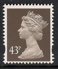 GB 1996 sg Y1717 43p Sepia photogravure 2 bands perf. 15x14 MNH ex Y1711