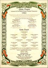 Offaly All-Ireland Senior Football Champions 1982: GAA Print