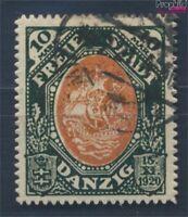 Danzig 62 geprüft m. Durchstich gestempelt 1921 Kogge (8209782