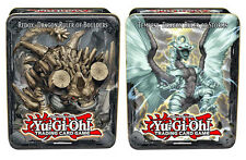 YUGIOH 2013 Set of 2 tins CT10 Redox Dragon Ruler of Boulders & Tempest SEALED!
