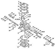 STIHL 030, 031 Chainsaw Carburetor Walbro WA2 Carb 1113-120-0602 New OEM Walbro