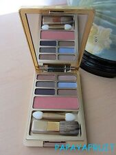 Estee Lauder 6 EyeShadow & Blush Palette NUDE ROSE SEPIA SAND WINKING PERIWINKLE