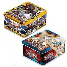YUGIOH 2012 Set of 2 tins Evolzar Dolkka & Heroic Champion Excalibur Tin SEALED!