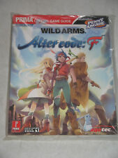 Official Game Guide WILD ARMS - Alter Code: F von Prima ~ NEU! ~ RPG Strategy